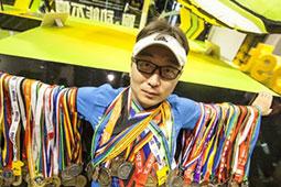 环球跑者,黄强专访