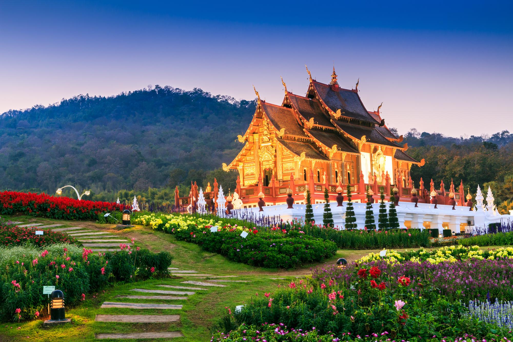 【双城记】泰国清迈清莱6-7日游