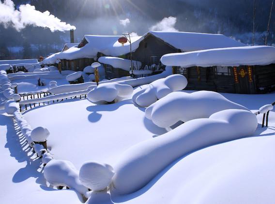 【冰雪小勇士】哈尔滨/亚布力/雪乡/伏尔加庄园6日游【冬令营/卖马迭尔冰棍/学习滑雪】