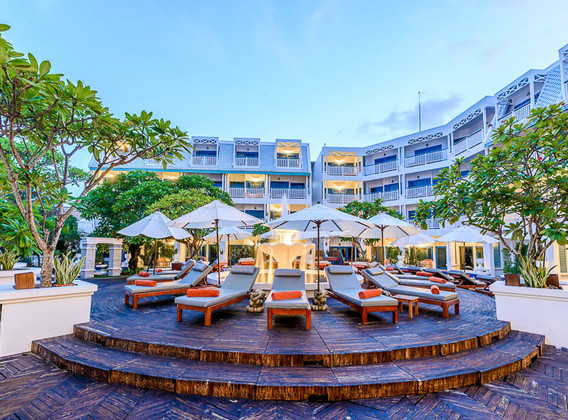 【超值奢玩】泰国普吉岛5晚7天百变自由行【安达曼海景酒店/卡伦海滩/高人气临海四钻/地中海风格】