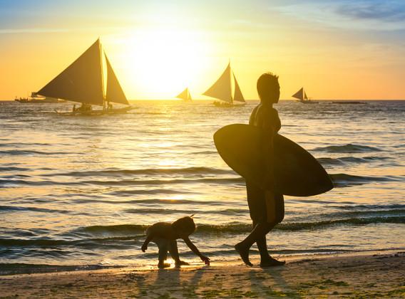 【网红打卡】菲律宾长滩岛4晚6天自由行【星期五度假村/菲式风情+59元/人体验香蕉船】